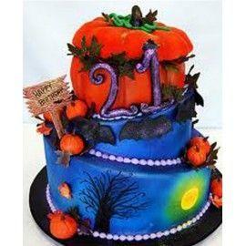 HA1 Tort Halloween Casa bantuita