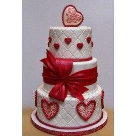 N6 Tort nunta Valentine
