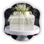 AN3 Tort Gama Elegant Cutie cadou