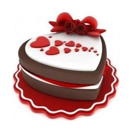 AN26  Tort aniversare Sweet heart for you
