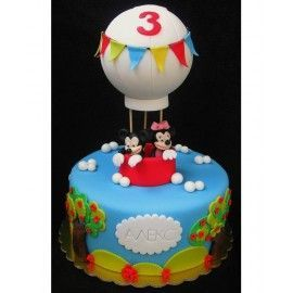 CO95 Tort copii Mickey in balon
