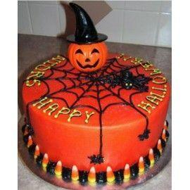 HA4 Tort Halloween Panza de paianjen