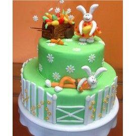 PA2 Tort Paste Iepurasii veseli