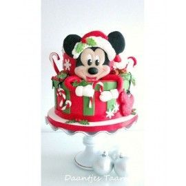 CR3 Tort Craciun Mickey Christmas