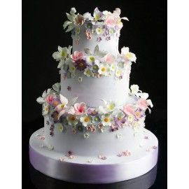 N22 Tort nunta Simfonia florilor