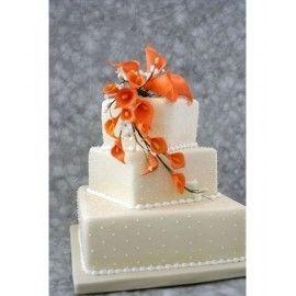 N24 Tort nunta Cale portocalii