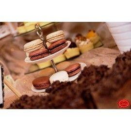 MA2 Macaron Ciocolata neagra