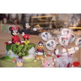 Tort si fursecuri cu tema Minnie si Micky